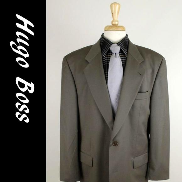 9f2d54d7 Hugo Boss Suits & Blazers | 44r Green 2b Mens Sport Coat 21g | Poshmark